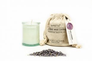 COCONUT WAX CANDLES - WILD LAVENDER {4 oz glass}