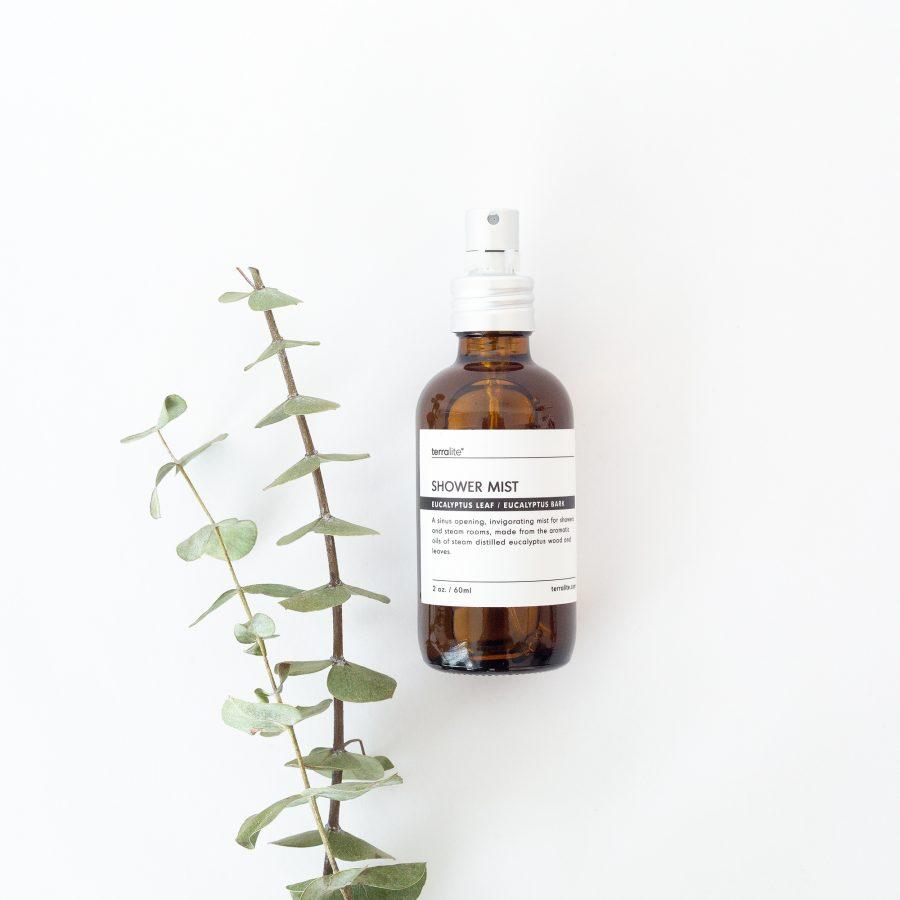 Organic Eucalyptus Shower Mist - 2oz.