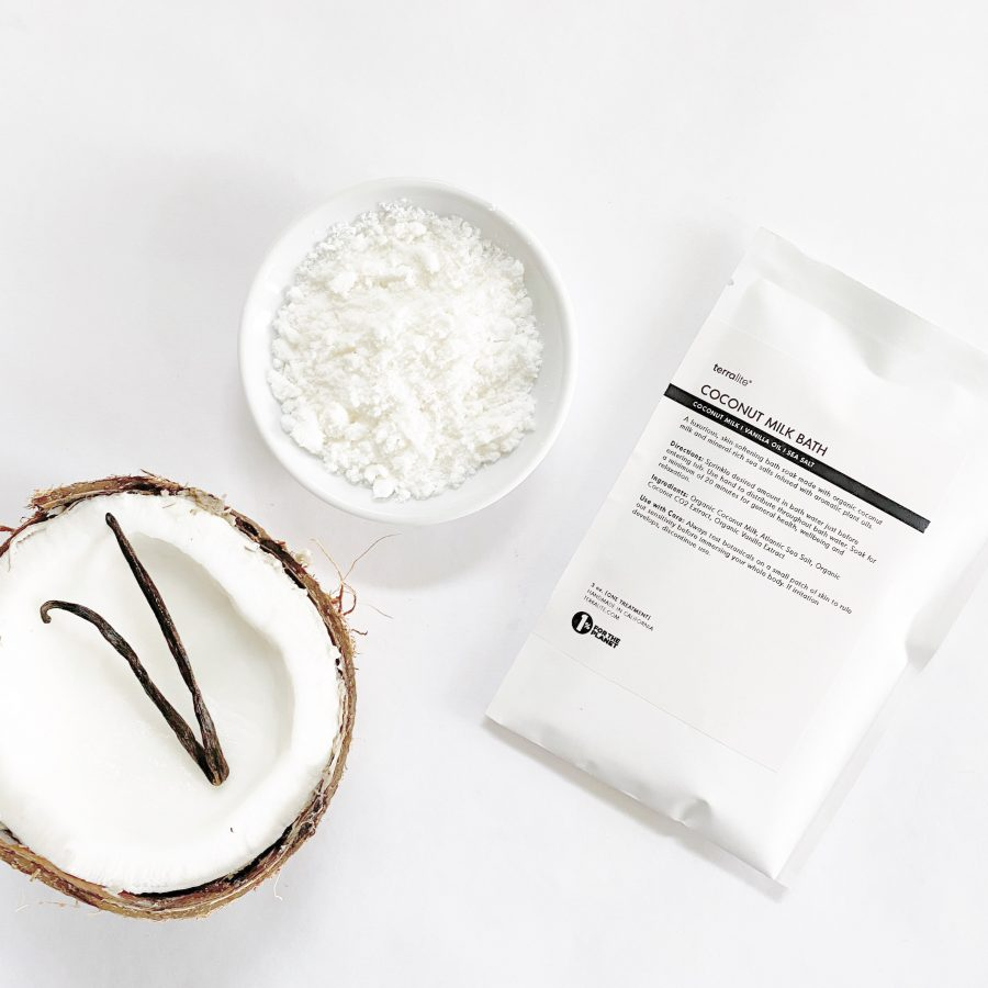 Organic Coconut Milk Bath Soak