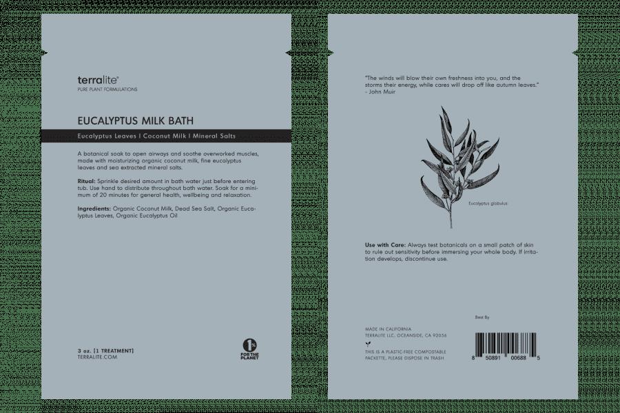 Organic Eucalyptus Coconut Milk Bath Soak