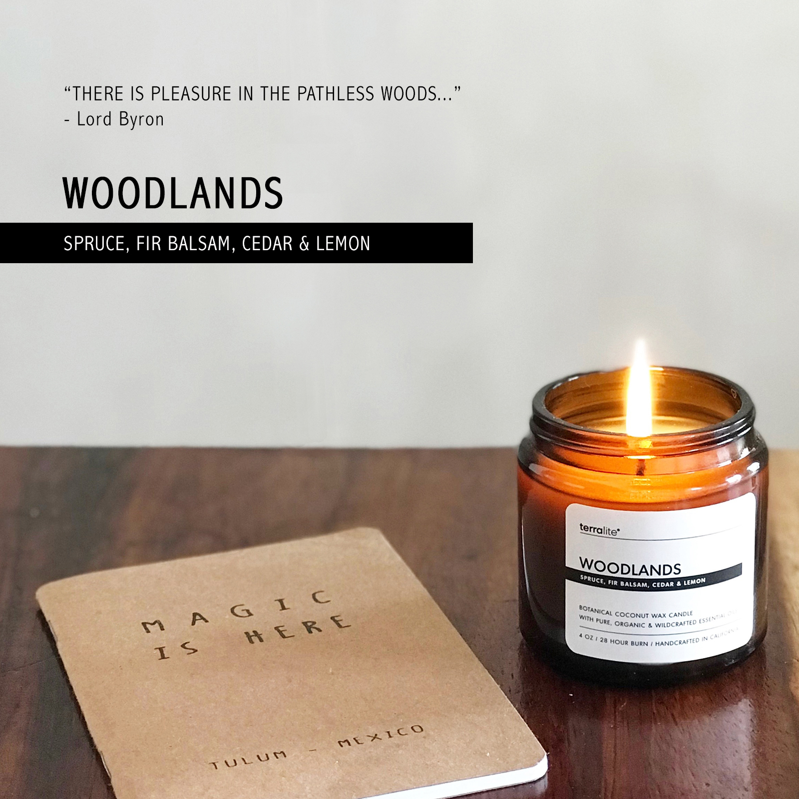 Terralite | Botanical Candles, Bath & Body Products