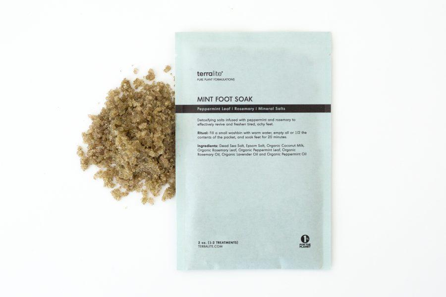 Organic Peppermint Foot Soak - Single Use
