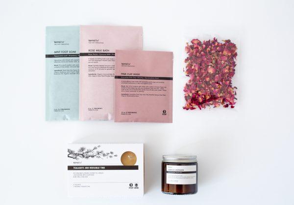 Self Love Kit - Organic Botanicals Gift Set Box