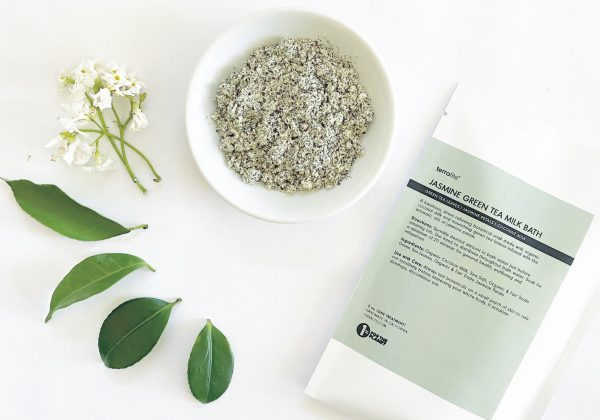 Organic Jasmine Green Tea Matcha Coconut Milk Bath Soak