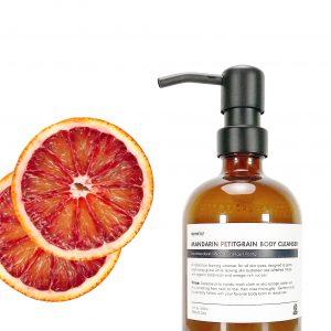 Mandarin Petitgrain Citrus Body Cleanser