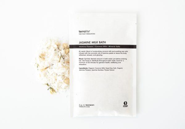 Organic Jasmine Milk Bath Soak - Single Use