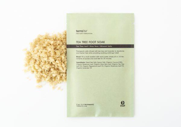 Organic Tea Tree Foot Soak - Single Use